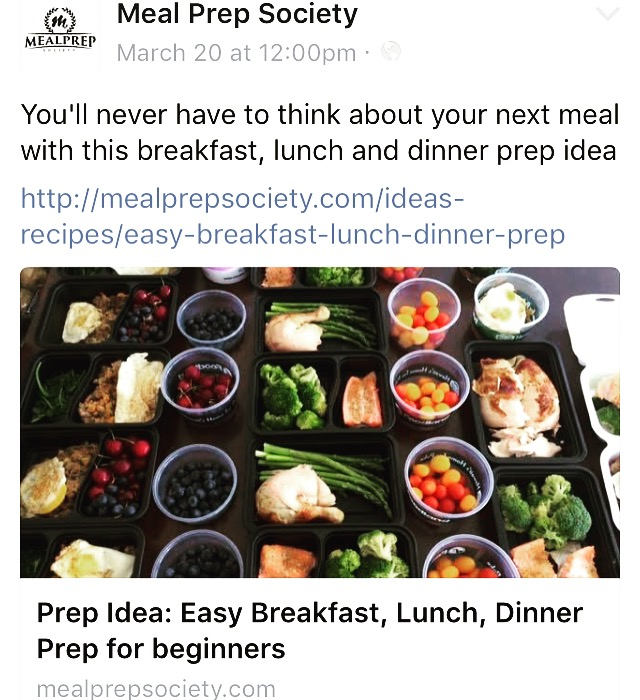 Meal Prep Society july 2016