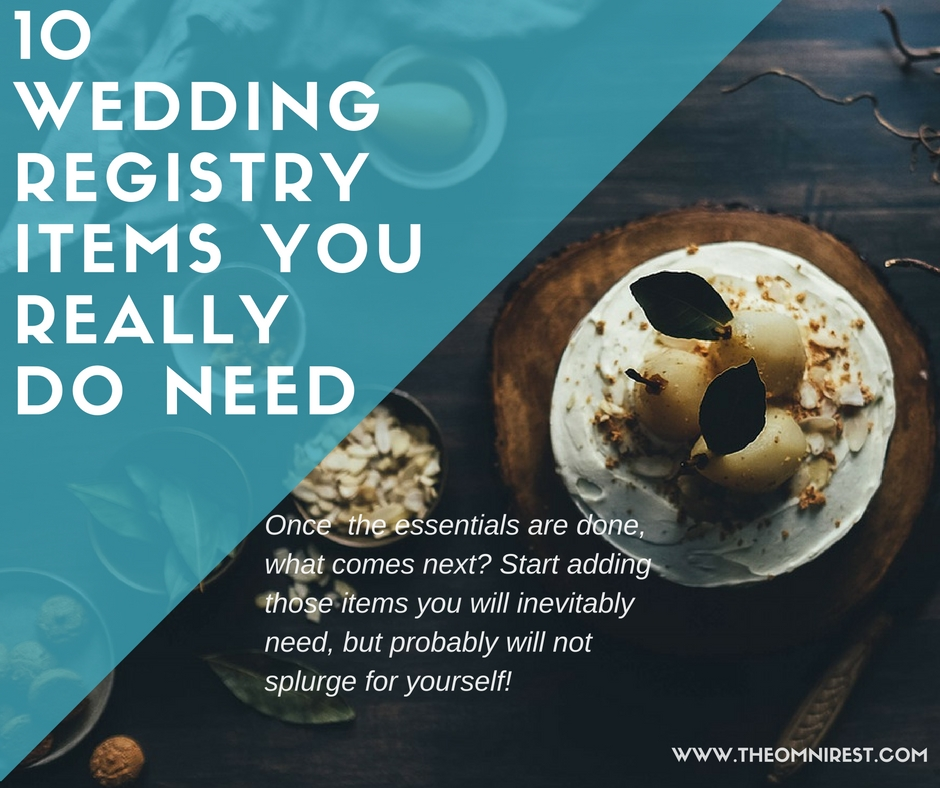 10 wedding registry items you really do need we promise omnirest solutioingenieria Image collections