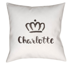 charlotte city pillow target decorative white pillow