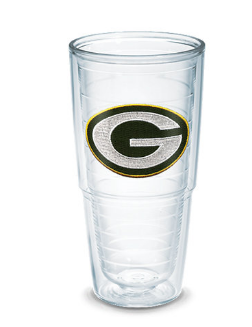 green bay packer tervis tumbler large aaron rogers drink