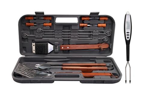 target budget bbq grill set tools