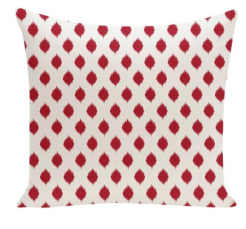 target ikat red decorative pillow throw pillow omnirest
